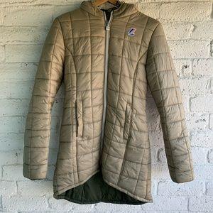 K-Way | Reversible Down Coat Jacket